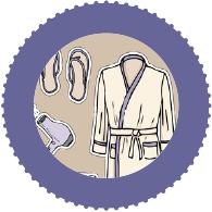 Nachtwäsche, Homewear, Bademäntel